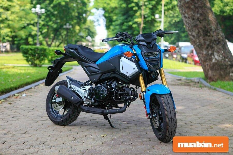 Honda MSX 125 chính thức gia nhập thị trường Việt Nam năm 2015.