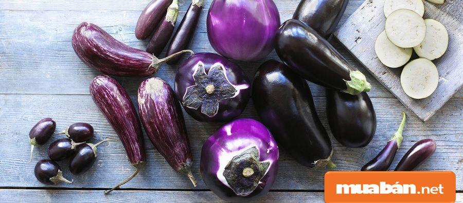 Bạn có thể chế biến nhiều món ăn ngon, đơn giản, dễ làm với từ quả cà tím.