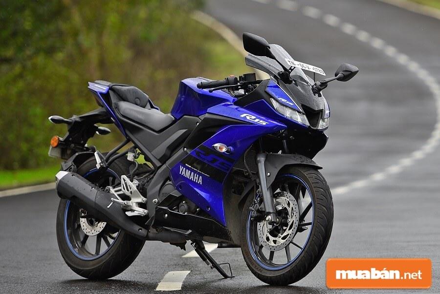 R15 là mẫu xe sportbike ở hạng 155cc của Yamaha.