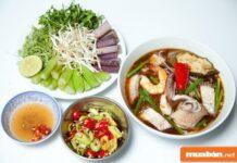 """Các món bún ngon – Phong phú thực đơn gia đình cho mùa """"Cô Vy"""""""