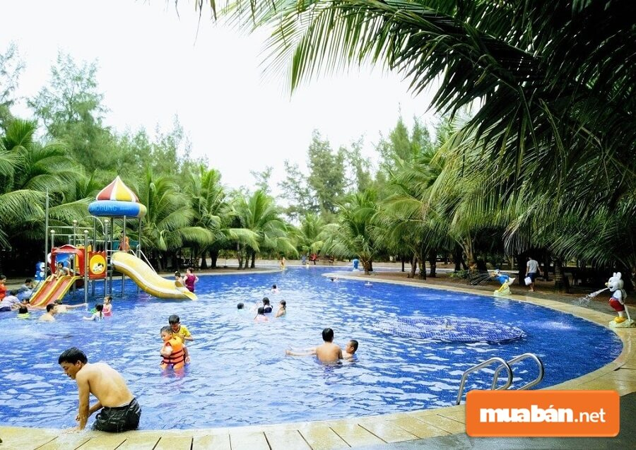 Long Cung Resort được xem là nơi nghỉ mát, nghỉ dưỡng lý tưởng