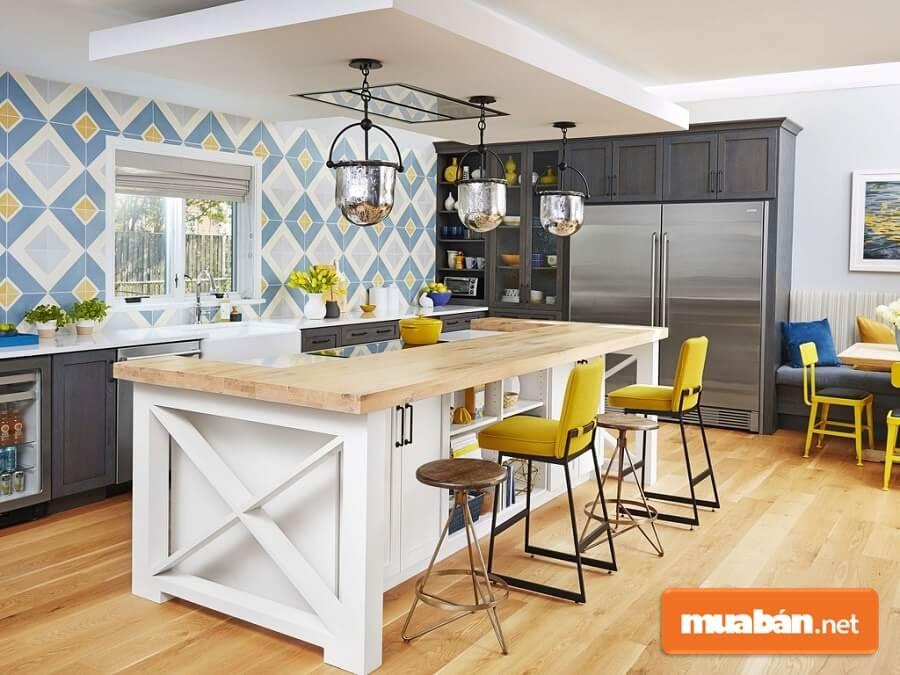 Mẫu phòng bếp đẹp, hiện đại cho căn nhà diện tích nhỏ