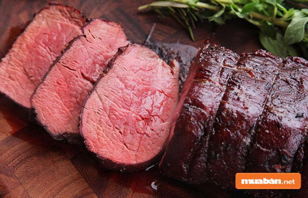 Món ngon với thịt bò