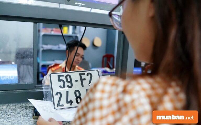 Phòng Cảnh sát giao thông tổ chức đăng ký, cấp biển số xe theo cụm nhằm bảo đảm thuận tiện cho tổ chức, cá nhân có nhu cầu đăng ký xe.
