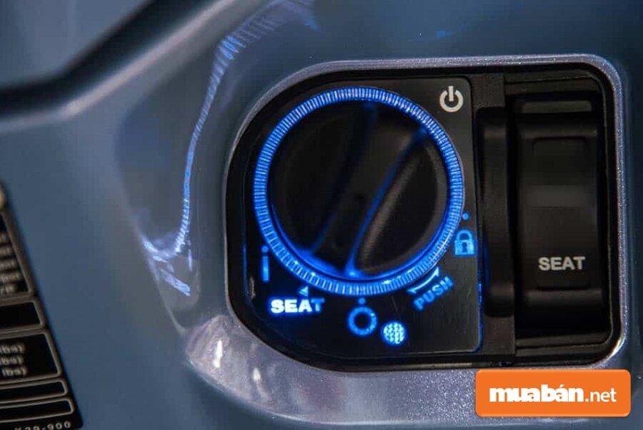SH Mode đời 2017 đã được nhà sản xuất Honda trang bị cho những công nghệ tiên tiến nhất. Đáng chú ý là smartkey.