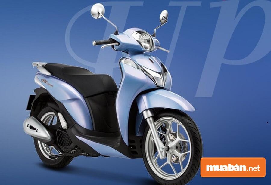 SH Mode giúp người lái toát lên được vẻ thời trang, hiện đại mà vẫn thanh lịch như những quý cô Châu Âu.
