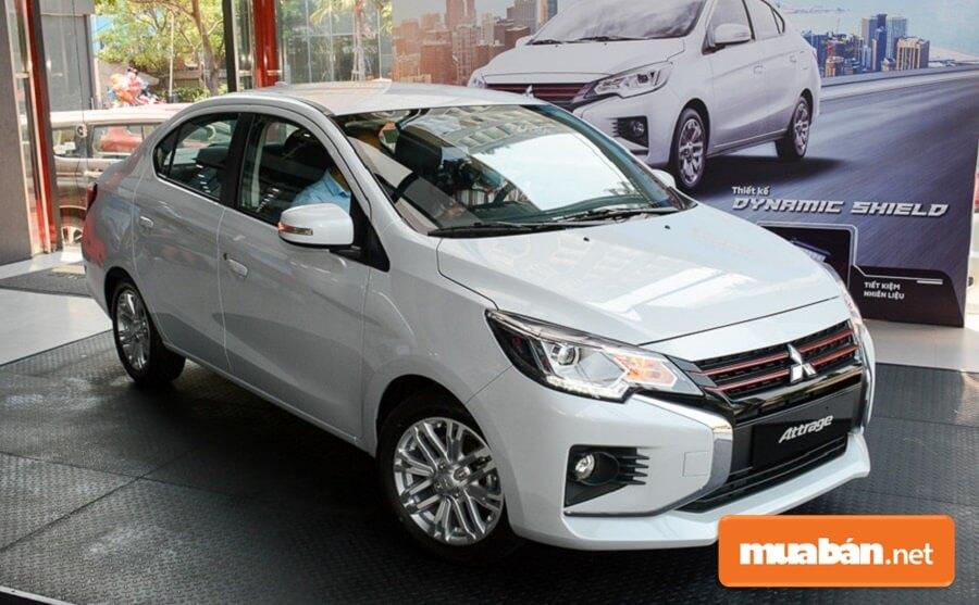 Phiên bản Mitsubishi Attrage 2020 MT Eco có giá bán 375 triệu đồng