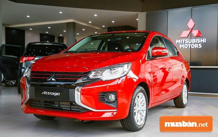 Mitsubishi Attrage đời xe 2020 có kiểu dáng mạnh mẽ, hiện đại