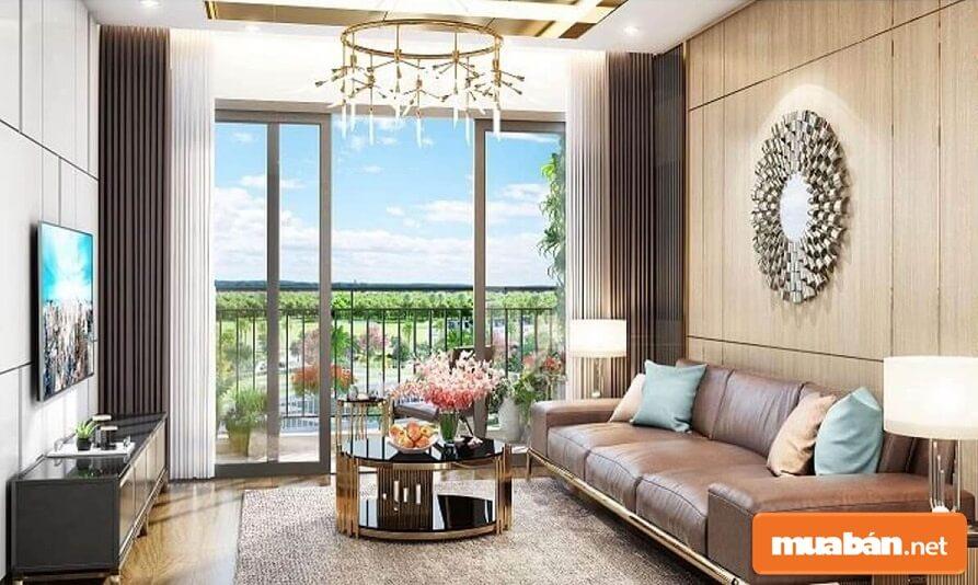 Thiết kế căn hộ Eco Green Sài Gòn đẹp, tiện nghi