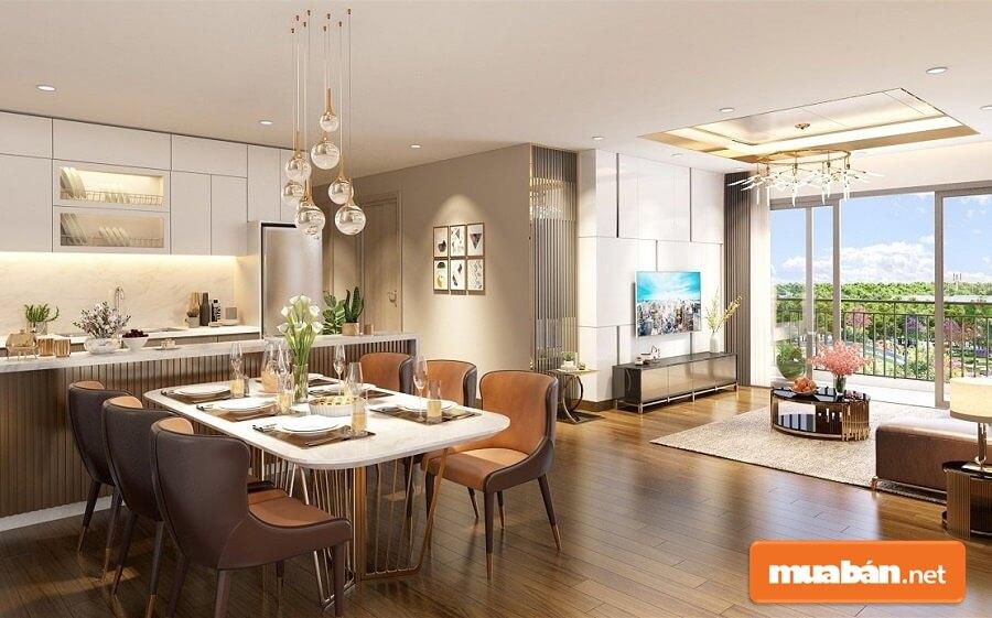 Chủ đầu tư dự án Eco Green Sài Gòn cam kết sẽ bàn giao căn hộ với nội thất cao cấp