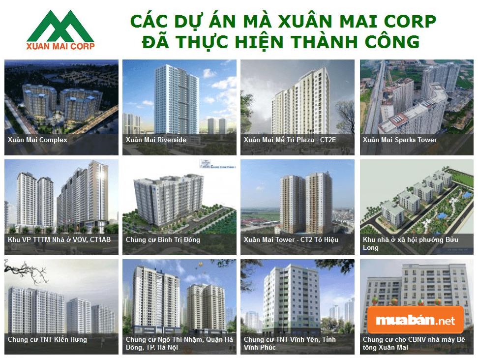 Eco Green Sài Gòn được chủ đầu tư Công ty CP Đầu tư và xây dựng Xuân Mai (Xuân Mai Corp)