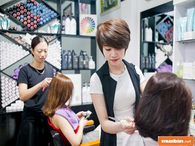 Nghề cắt tóc với cơ hội việc làm khá rộng mở hiện nay