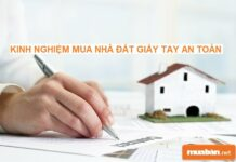 Kinh nghiệm mua nhà giấy tay an toàn, hạn chế tối đa rủi ro