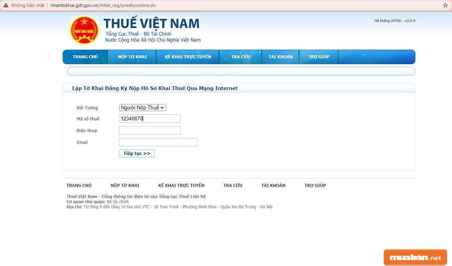 Bước đăng ký tài khoản chỉ dành người mới thực hiện lần đầu.
