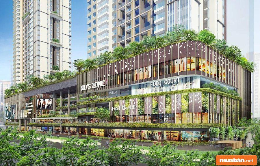 Estella được xây dựng ở địa chỉ số 88 Song Hành, phường An Phú, Quận 2.