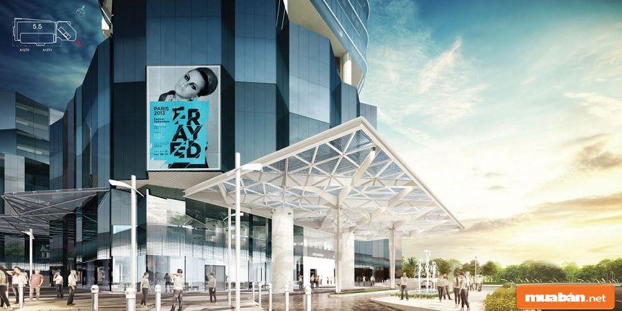 Socar Mall có nhiều tiện ích hấp dẫn với không gian ngoài trời sinh động.
