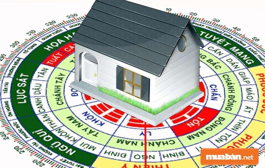 Một khiếm khuyết nào đó về mặt phong thủy cũng khiến ngôi nhà trở lên khó bán.