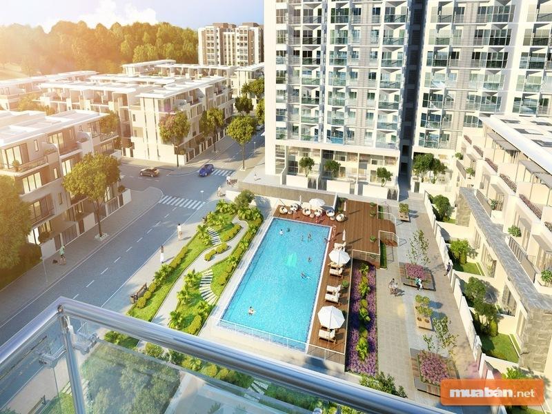 Khu chung cư của dự án sở hữu view tuyệt đẹp