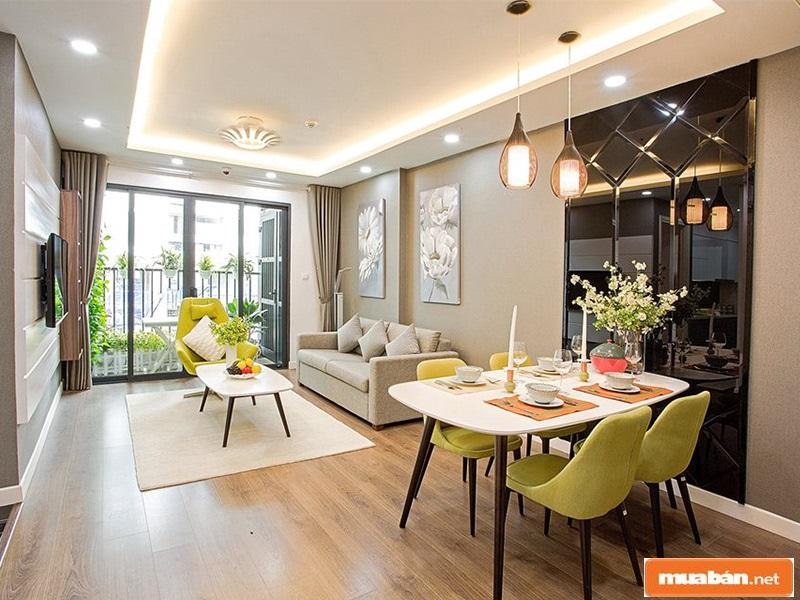 Căn nhà được thiết kế hiện đại, tiện nghi, ấm cúng