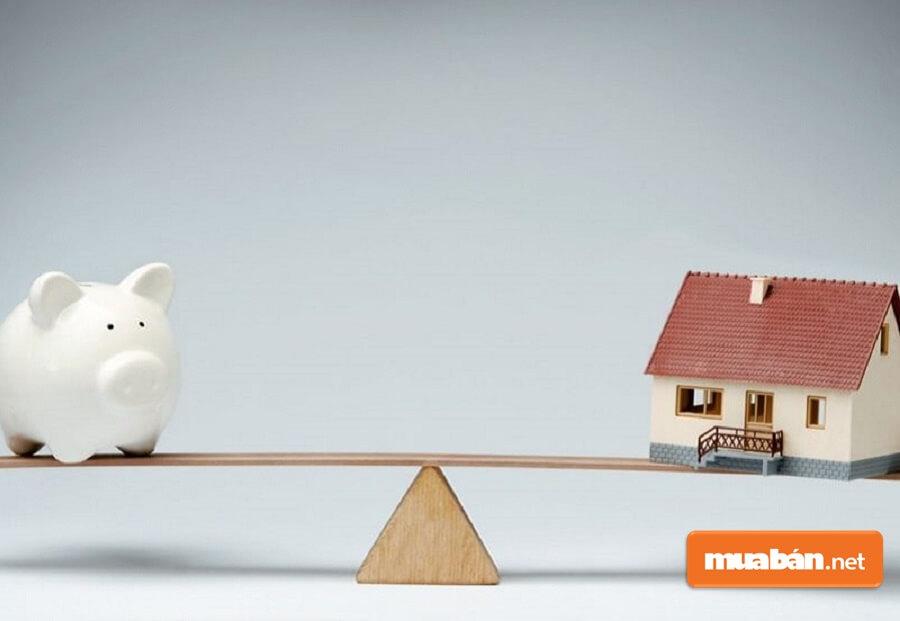 Việc mua nhà trả góp qua ngân hàng sẽ có lợi hơn khá nhiều so với việc bạn ở nhà thuê.