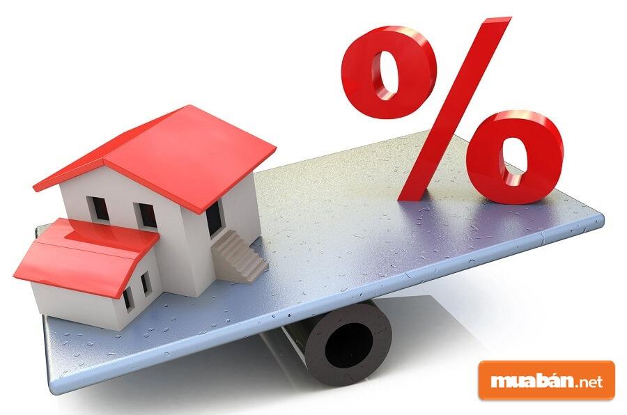 Các chuyên gia tài chính khuyên rằng bạn nên có trong tay ít nhất 30% - 50% giá trị căn nhà muốn mua.