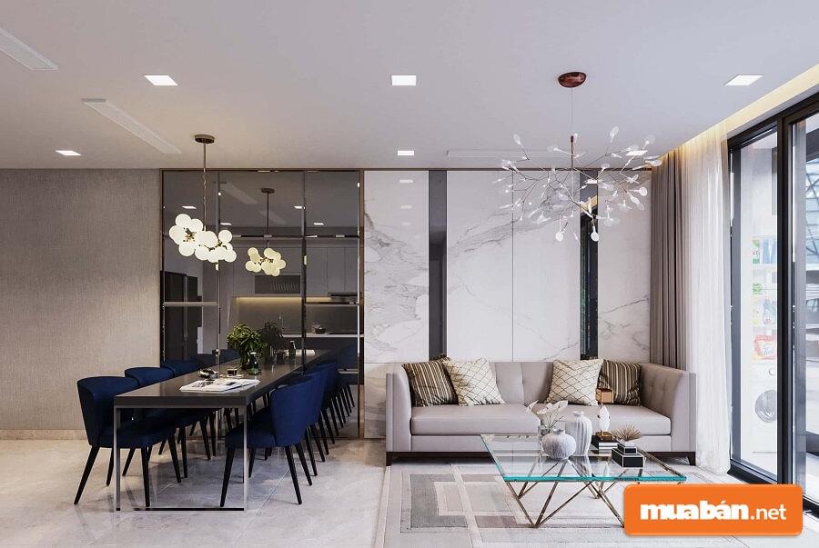 Giá cho thuê căn hộ Vinhomes Golden River có nội thất cơ bản chỉ từ 750$ – 850$/tháng.