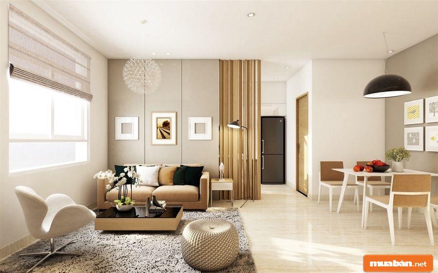 Bạn nên trang bị cho căn hộ những nội thất cơ bản nhất có thể.