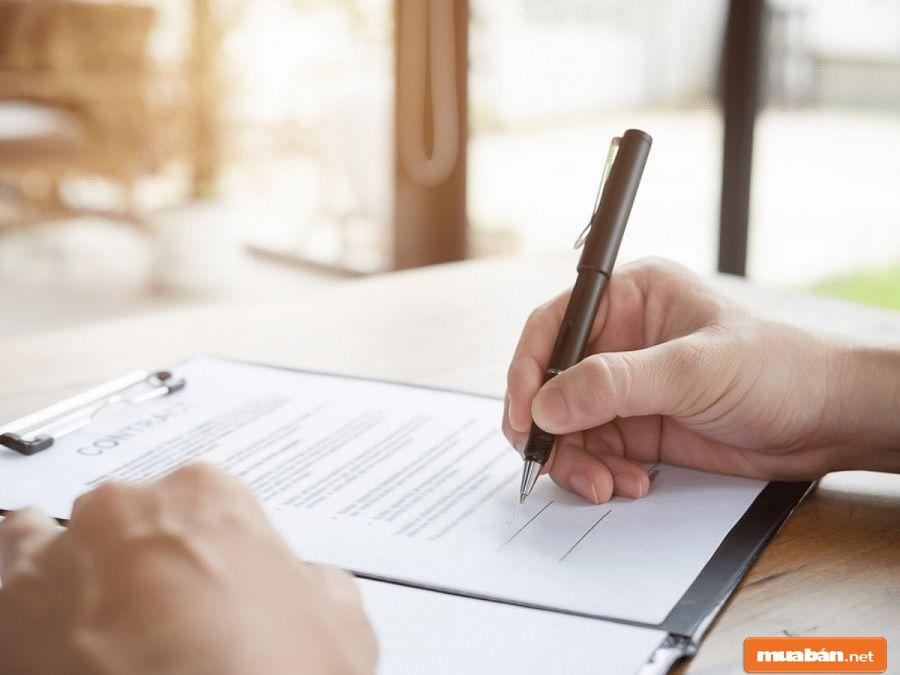 Cần phải có phụ lục kèm theo ghi chú về các tiện nghi căn hộ và tiện ích dự án được nhận.