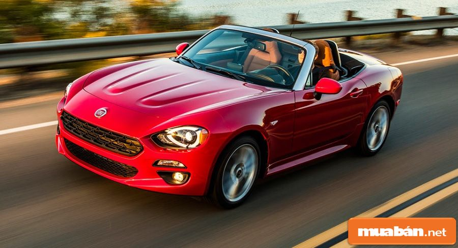 Chiếc xe kết hợp giữa Mazda và Fiat với nhiều ưu điểm được kế thừa từ Mazda MX-5.
