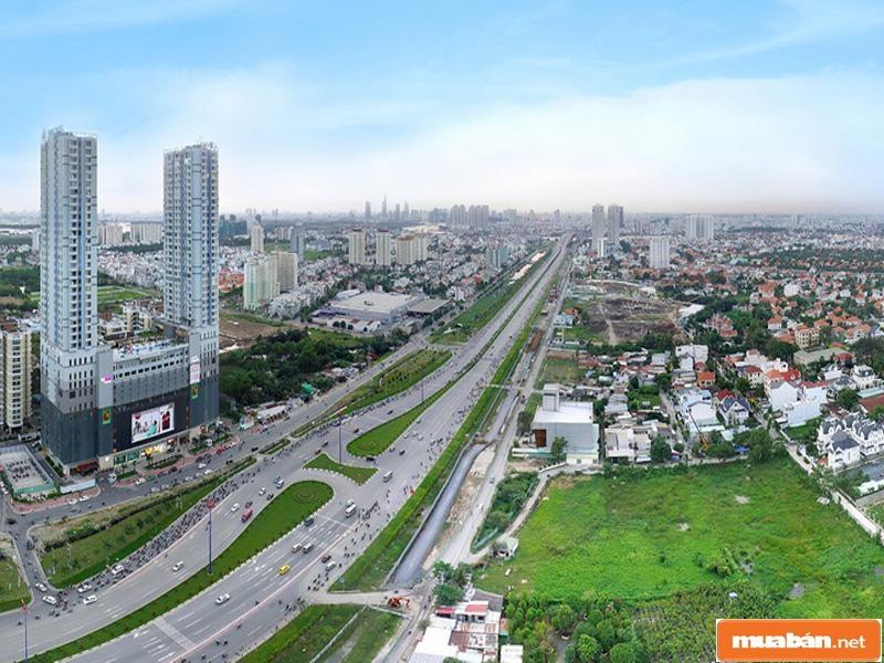 Thành phố hiện nay rất tập trung phát triển khu Đông, trong đó có quận Thủ Đức