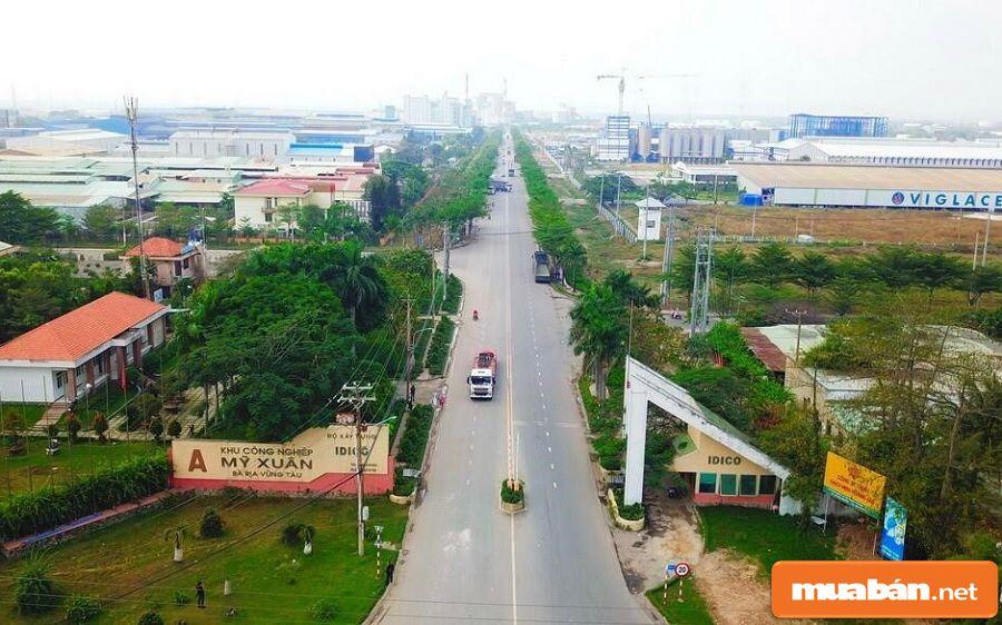 Phú Mỹ là khu vực tập trung nhiều khu công nghiệp nhất của tỉnh Bà Rịa – Vũng Tàu.