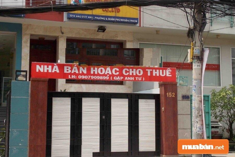 Bán nhà Phú Nhuận hiện nay: Thuận lợi & khó khăn