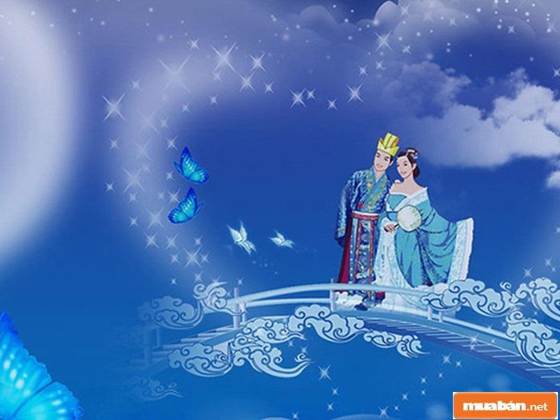 Nguồn gốc ngày lễ thất tịch xuất phát từ truyền thuyết của Trung Quốc, kể về 1 tình yêu đẹp nhưng khá buồn