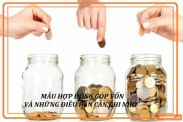 Cùng Tìm Hiểu Về Mẫu Hợp Đồng Góp Vốn Trong Bài Viết Này Của Chúng Tôi Nhé