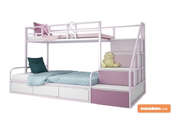 Cùng Tìm Hiểu Về Giường Tầng Sắt Và Những Ưu Điểm Của Nó Nhé