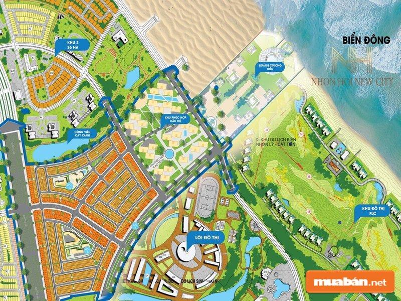 Các nhà đầu tư đánh giá rất cao dự án Nhơn Hội New City
