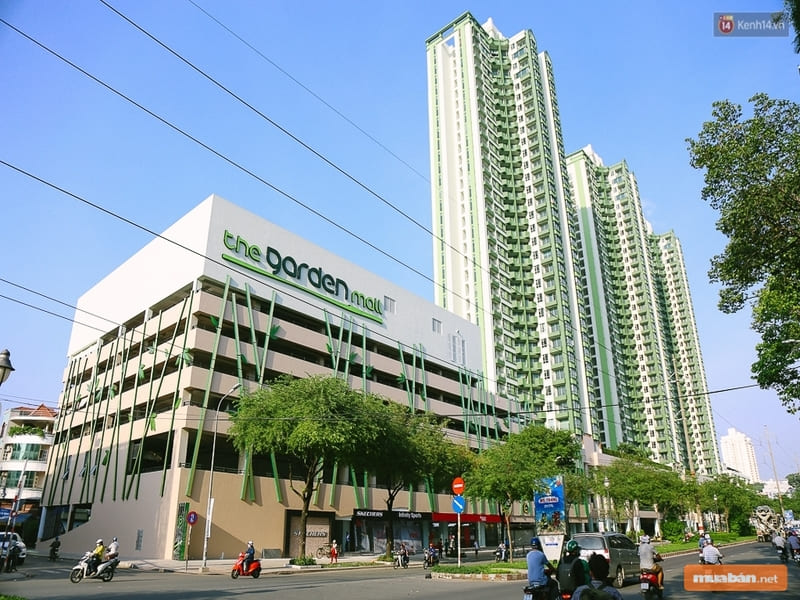 The Garden Mall được xem là sự hồi sinh của dự án bất động sản này