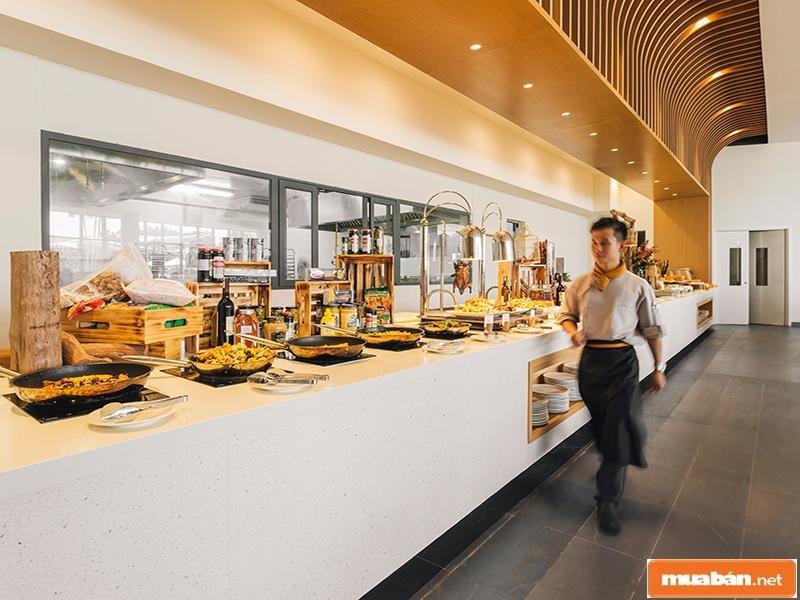 Suối nước nóng Bình Châu thật sự đã gây sự ấn tượng cho du khách về menu ẩm thực ngon và đa dạng
