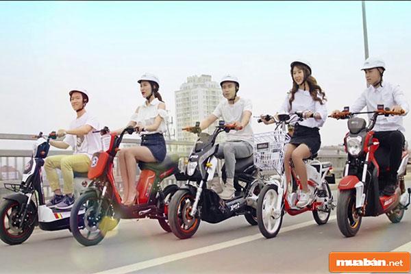 xe đạp điện giá rẻ 01