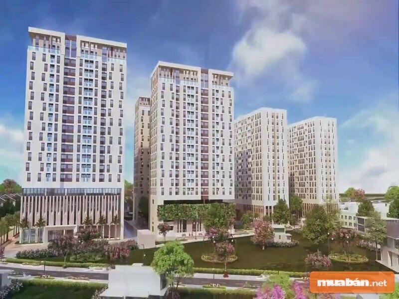 Hạ tầng khu vực quanh dự án cũng mang lại nhiều tiện ích cho cư dân chung cư Sky 9