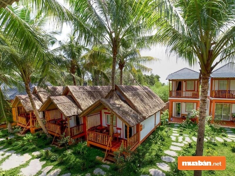 Deluxe bungalow là loại nhà có diện tích rộng, hướng nhìn đẹp và trang bị nhiều tiện nghi cao cấp và giá cao hơn