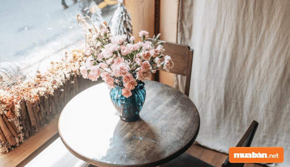 Mẫu Hoa Cẩm Chướng Được Cắm Cực Xinh