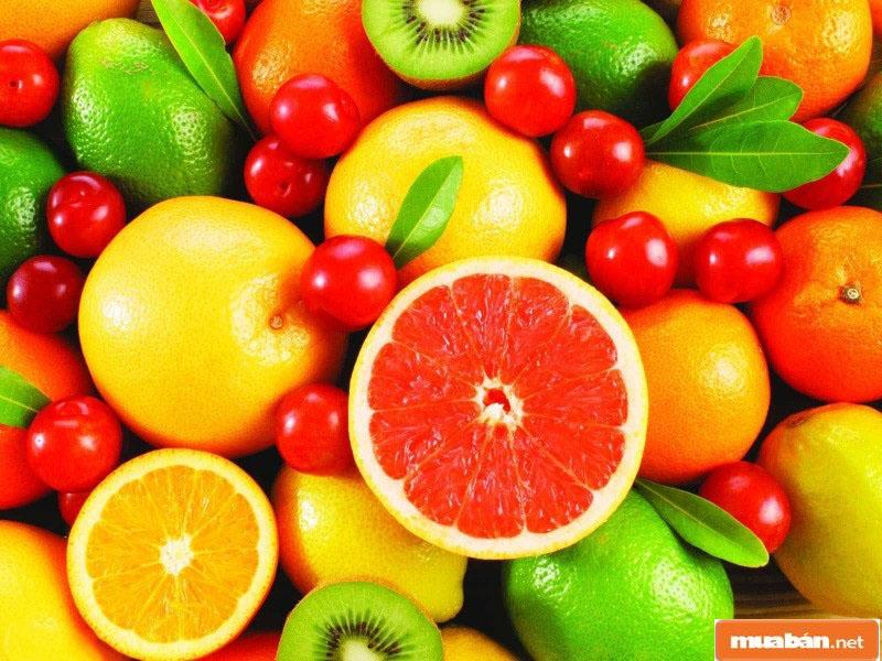 Các loại trái cây chứa nhiều vitamin C