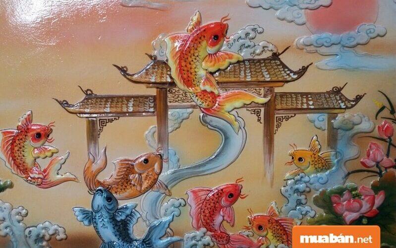 Sự tích cá chép hóa rồng, ý nghĩa trong phong thủy