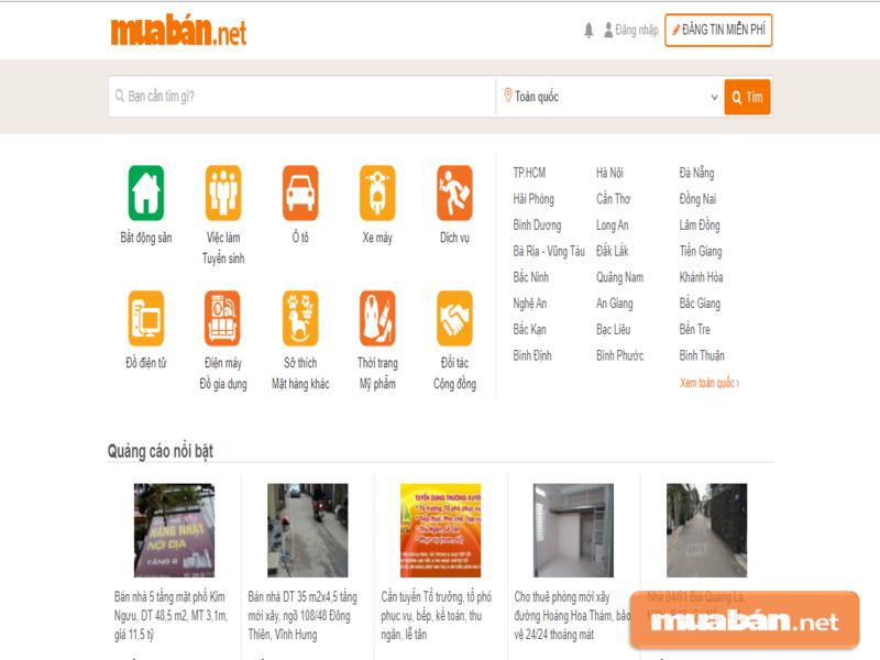 Muaban.net sẽ giúp bạn tận dụng sức mạnh của internet trong đầu tư bất động sản
