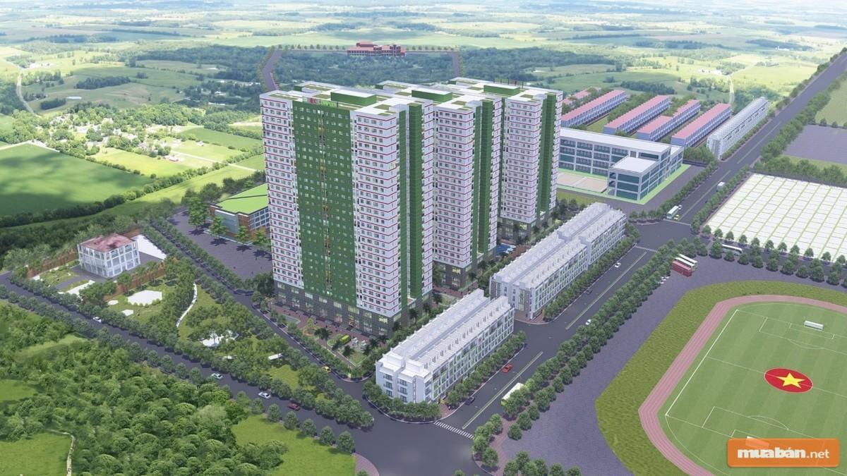 Dự án EIC Thanh Trì với không gian được thiết kế ấn tượng, đầy đủ tiện ích