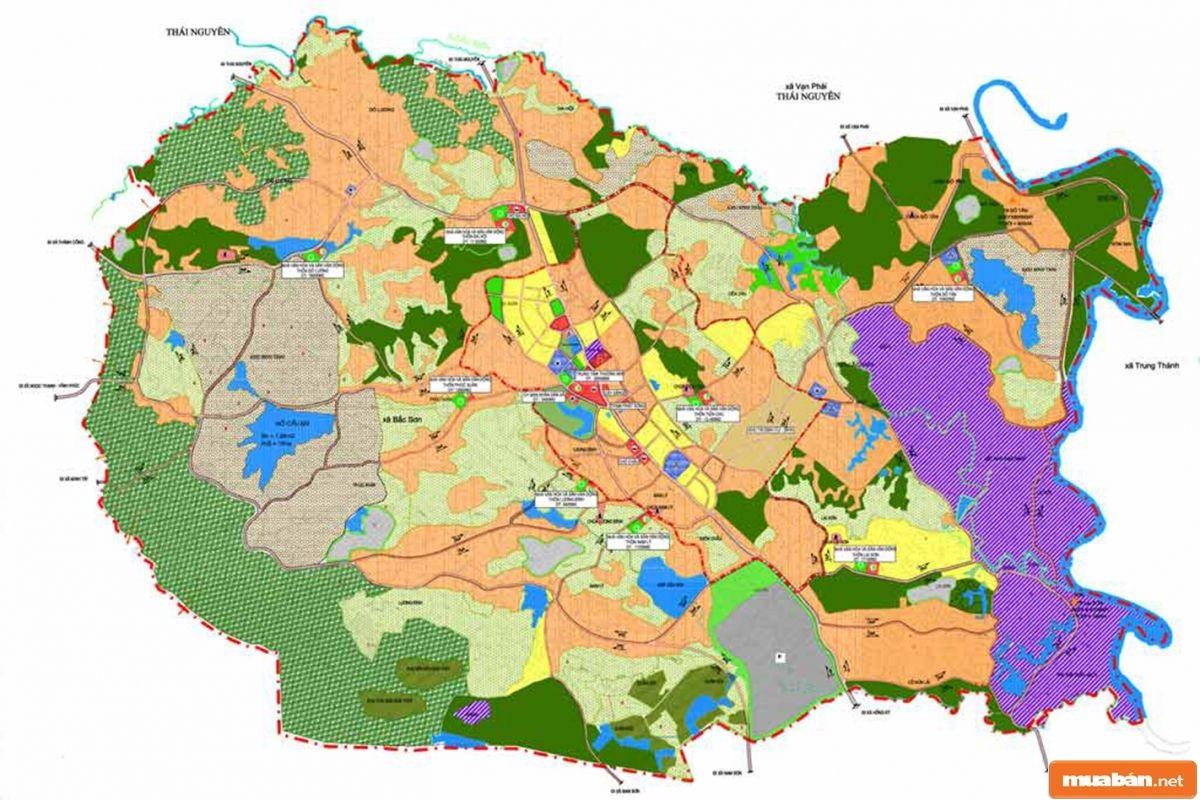 Bản Đồ Quy Hoạch Hà Nội 2030 Chính Là Kế Hoạch Phân Bổ Nguồn Đất Vào Cuối Năm 2030