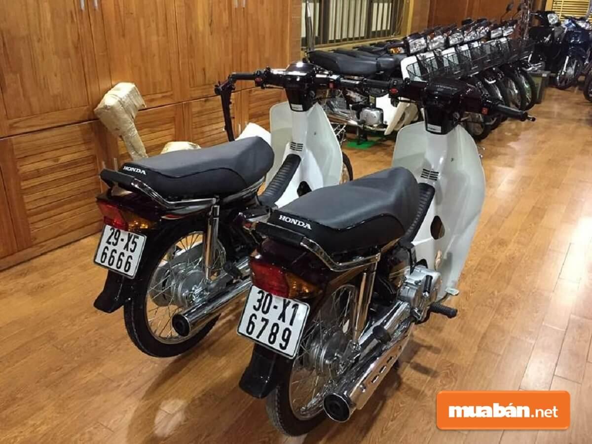 Hiện nay, những mẫu xe Dream Thái cũ đời đầu với máy móc còn zin cũng đang được rao bán cực kỳ đắt đỏ.