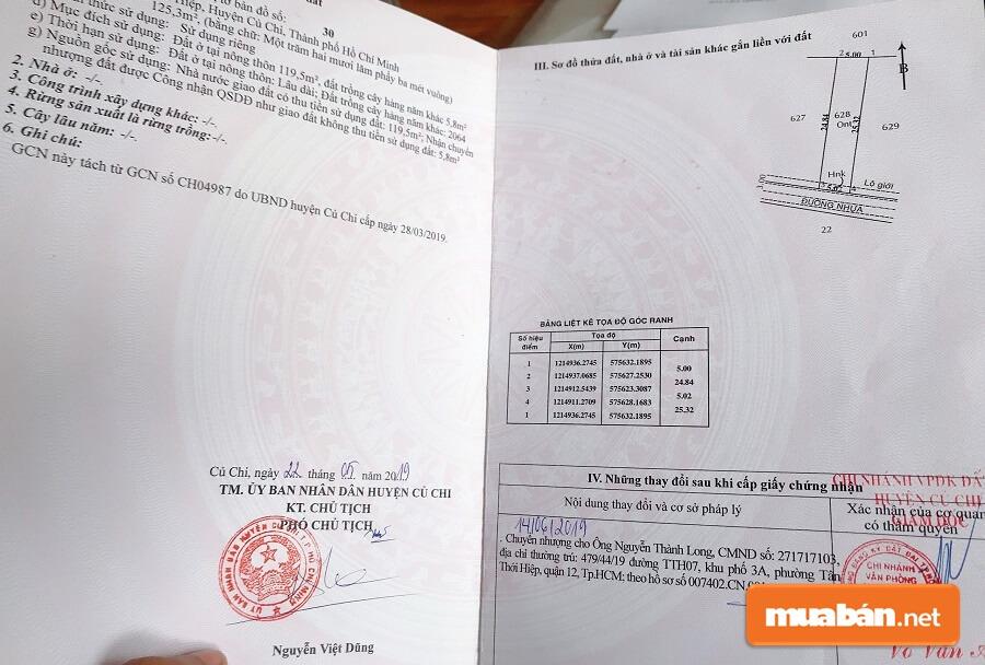 Theo Pháp Luật Việt Nam Hiện Hành Quy Định Thì Tất Cả Các Loại Đất Thổ Cư Sẽ Có Sổ Đỏ.