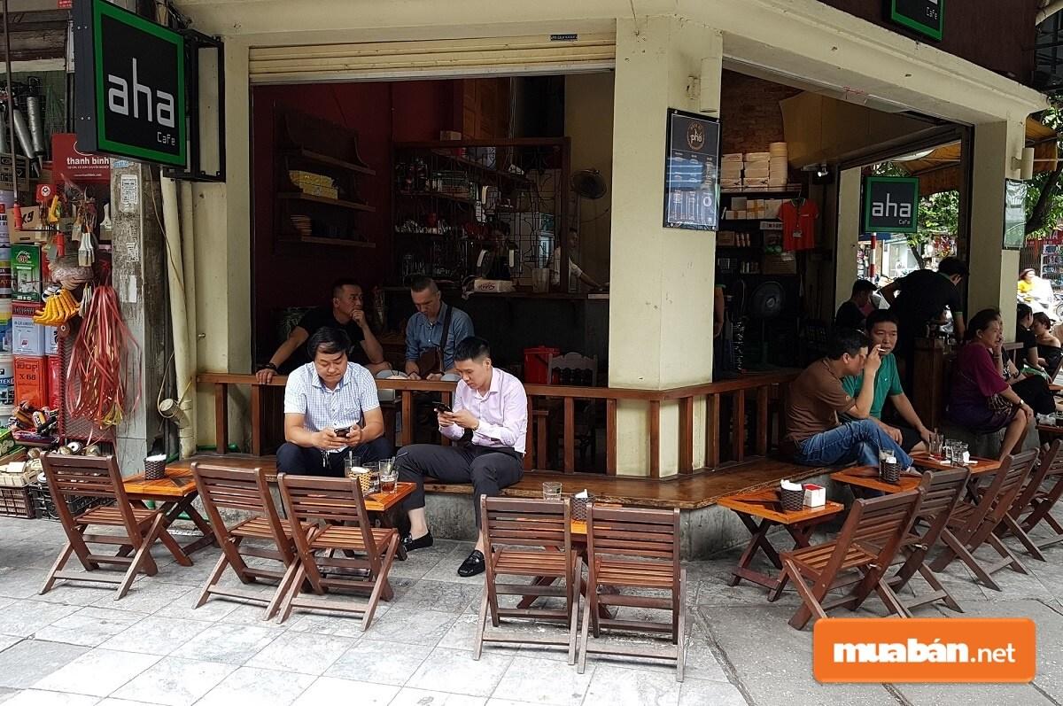 Mặt bằng đẹp là yếu tố tiên quyết để mô hình kinh doanh nhà hàng quán cafe thành công.